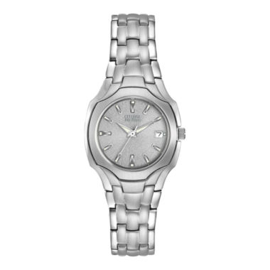 jcpenney.com | Citizen® Eco-Drive® Womens Stainless Steel Watch EW1250-54A
