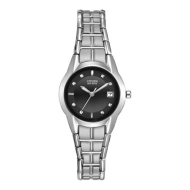 jcpenney.com | Citizen® Eco-Drive® Womens Stainless Steel Watch EW1410-50E