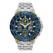 Citizen® Eco-Drive™ Mens Blue Angel Skyhawk Watch JY0040-59L