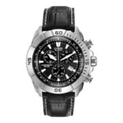 Citizen® Eco-Drive® Mens Black Chronograph Watch AT0810-12E