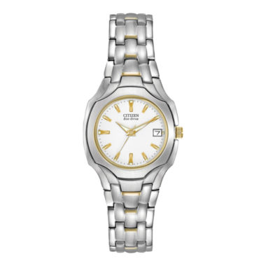 jcpenney.com | Citizen® Eco-Drive® Womens Two-Tone Watch EW1254-53A