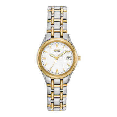 jcpenney.com | Citizen® Eco-Drive® Womens Two-Tone Watch EW1264-50A