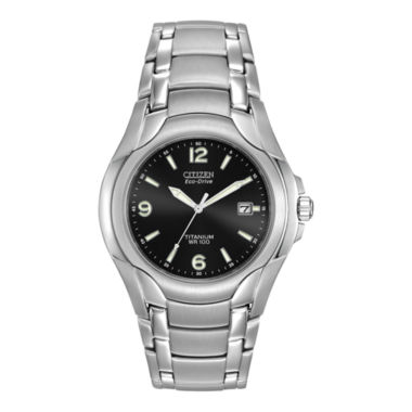 jcpenney.com | Citizen® Eco-Drive® Mens Titanium Watch BM6060-57F