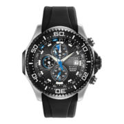 Citizen® Eco-Drive® Mens Black Chronograph Watch BJ2115-07E