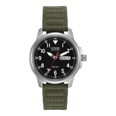 jcpenney.com | Citizen® Eco-Drive® Mens Military Green Watch BM8180-03E