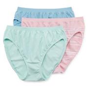 Jockey® Comfies® 3-pk. High-Cut Panties - 3326