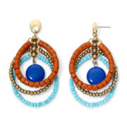 Aris by Treska Boho Triple-Loop Earrings