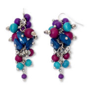 Aris by Treska Grape Cluster Earrings