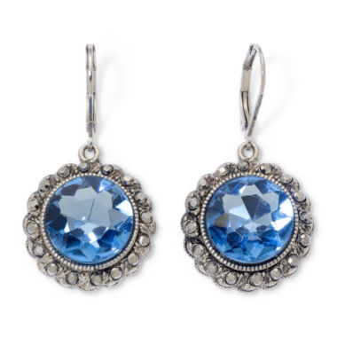 jcpenney.com | Monet® Blue Moon Drop Earrings
