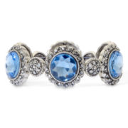 Monet® Blue Moon Stretch Bracelet