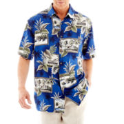 Island Shores™ Short-Sleeve Printed Shirt