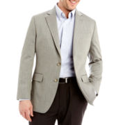 Stafford® Signature Cotton Herringbone Sport Coat - Classic