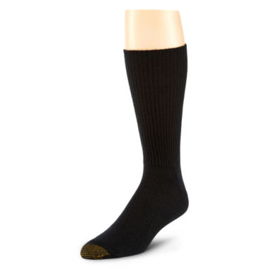 jcpenney.com | Gold Toe® 3-pk. Fluffies® Casual Acrylic Crew Socks–Big & Tall