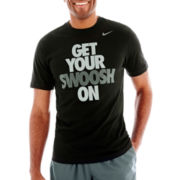 Nike® Swoosh On Tee