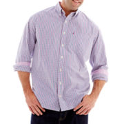 IZOD Long–Sleeve Essential Woven Shirt–Big & Tall
