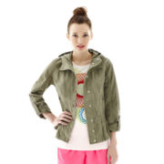 L'Amour Nanette Lepore Military Anorak Jacket