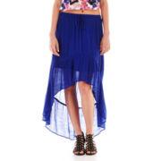 Olsenboye® High-Low Ruffle-Hem Maxi Skirt