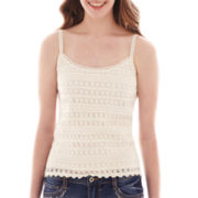 Arizona Crocheted Tank Top