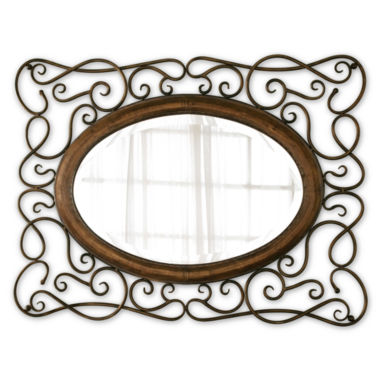 jcpenney.com | Bayonne Beveled Oval Wall Mirror