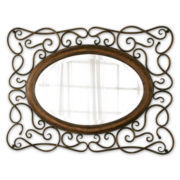 Bayonne Beveled Oval Wall Mirror