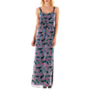 I 'Heart' Ronson® Smocked Maxi Dress