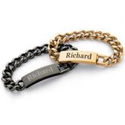 Men's Name Bracelet Stainless Steel