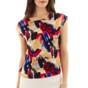 MNG by Mango® Short-Sleeve Print Blouse