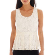 Worthington® Lace Peplum Top