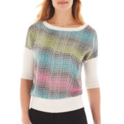 Worthington® 3/4-Sleeve Sweater