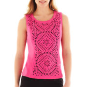 Worthington® Laser-Cut Shell Top