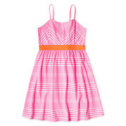 Total Girl® Bow-Back Sundress - Girls 6-16 and Plus