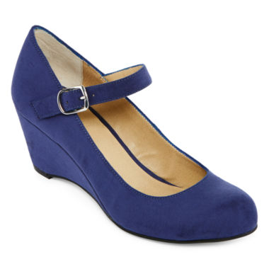 jcpenney.com | a.n.a® Michele Mary Jane Wedge Pumps