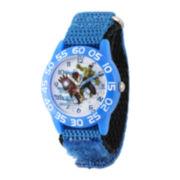 Marvel® Avengers Kids Time Teacher Blue Nylon Watch