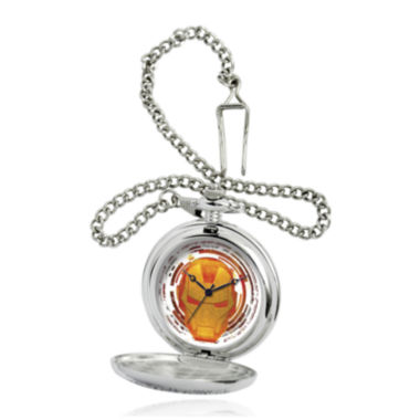 jcpenney.com | Marvel® Iron Man Mens Silver-Tone Pocket Watch
