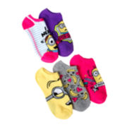Despicable Me 2 5-pk. No-Show Socks