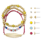 Carole 9-pc. Bright Jewelry Set