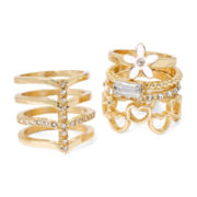 Carole 5-pc. Gold-Tone Rings