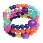 Mixit™ Rainbow Bead Coil Bracelet
