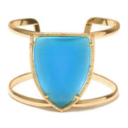 ATHRA Aqua Stone Shield Bracelet