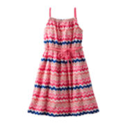OshKosh B'gosh® Woven Maxi Dress– Preschool Girls 4-6x