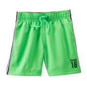 OshKosh B'gosh® Green Mesh Shorts - Toddler Boys 2t-5t