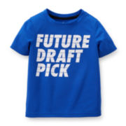 Carter's® Blue Draft Active Tee - Baby Boys 6m-24m