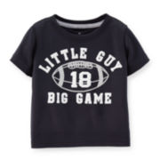 Carter's® Black Active Tee – Baby Boys 6m-24m