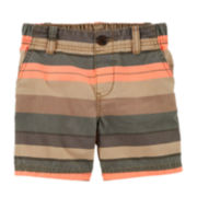 Carter's® Striped Shorts - Baby Boys 6m-24m
