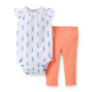 Carter's® Bodysuit and Leggings Set - Baby Girls newborn-24m