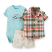 Carter's® 3-pc. Little Dude Apparel Set - Baby Boys newborn-24m