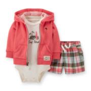 Carter's® 3-pc. Surf Apparel Set – Baby Boys newborn-24m
