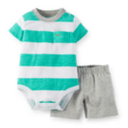Carter's® Bodysuit and Shorts Set – Baby Boys newborn-24m