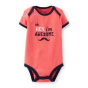 Carter's® Mustache Bodysuit – Baby Boys newborn-24m