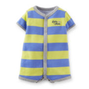 Carter's® Striped Cotton Creeper - Baby Boys newborn-24m